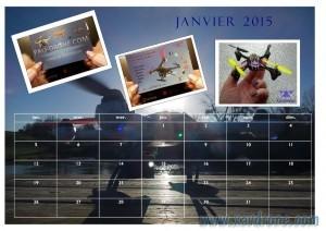 calendrier Xavdrone