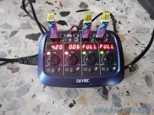 charge batterie nano qx