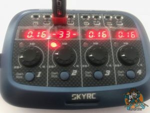 code erreur 33 chargeur skyrc