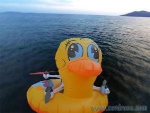 bouée canard pour drone