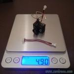 poids ultra micro caméra fpv