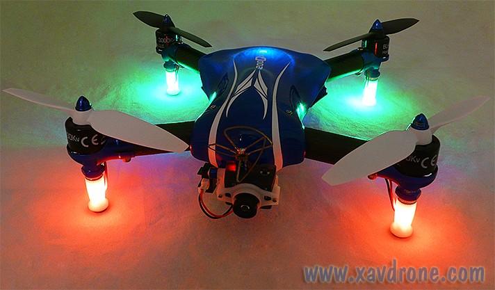 blade 200QX leds light RKH