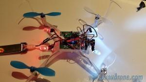 montage nanoqx fpv racer