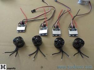 moteurs et esc drones