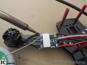 montage drone QA 250