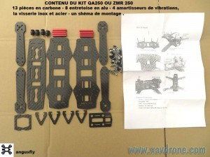 matériel montage drone DIY