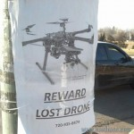 drone perdu dji-f550
