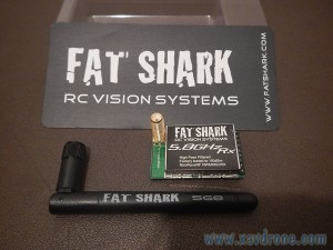 Récepteur Fat Shark 5,8 GHz