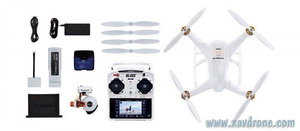 Blade Chroma avec caméra 1080p CGO2+ et radio ST-10+