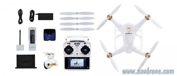 Blade Chroma avec caméra 4K CGO3 et radio ST-10+