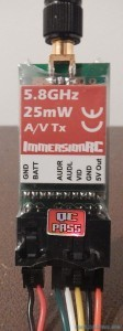 tx immersion RC 25mw