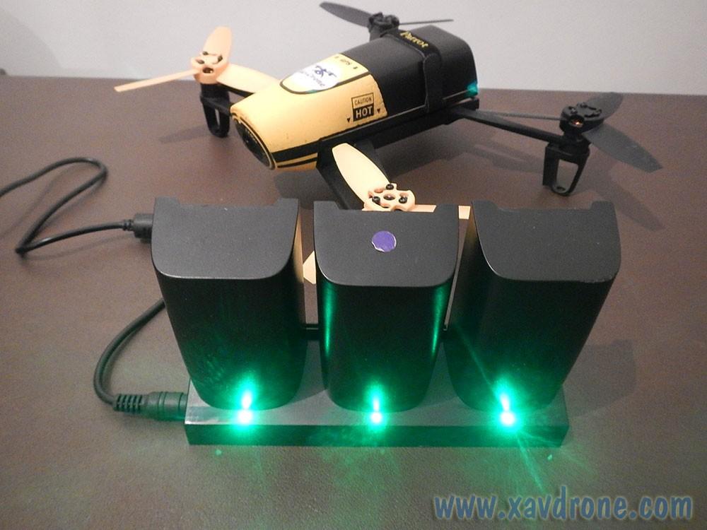 Chargeur 3 Batteries Pour Bebop Drone