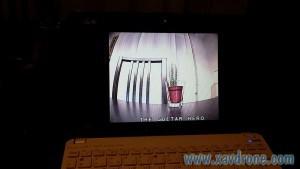 retour FPV sur écran ordinateur