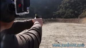 tirer sur des drones