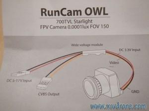 notice RunCam Owl
