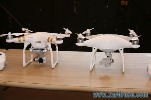 phantom 3 et phantom 4