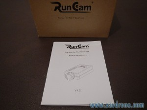 notice Runcam HD