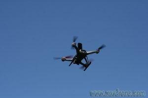 video 360 en drone