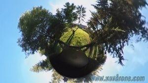 bebop drone caméra 360