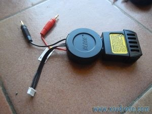 cable Chargeur Inductrix 200 FPV