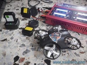 Chargeur batterie Inductrix 200 FPV