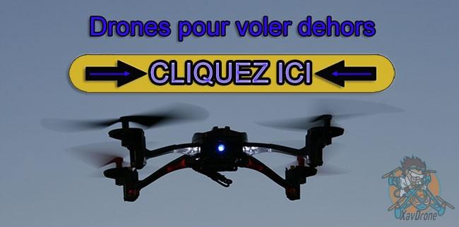 drones pour voler dehors