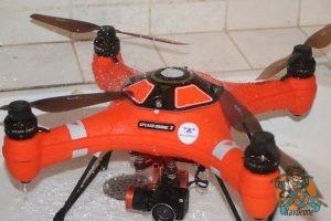 nettoyage drone