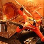 laver un drone